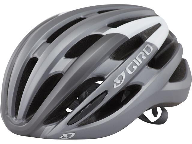 Giro Foray Kask rowerowy, matte titanium/white